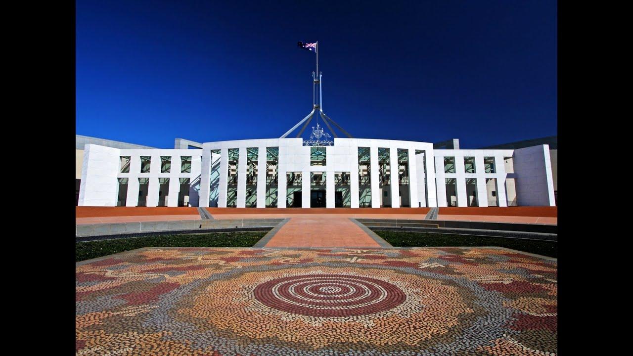 Parliament House, Caberra, Australian Capital Territory ...