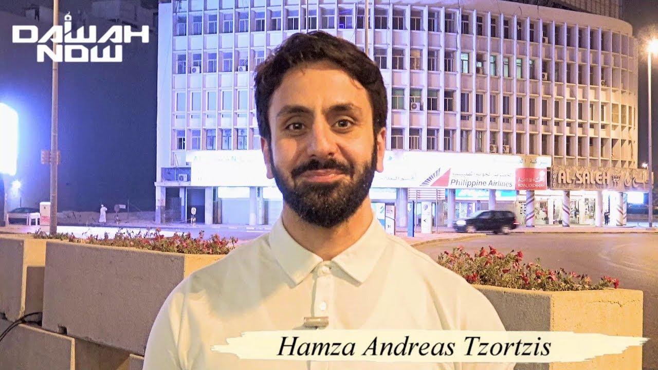 hamza andreas tzortzis ile ilgili görsel sonucu