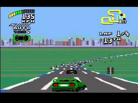Прохождение Top Gear 2 (Sega Genesis / Sega Mega Drive) - Часть 1