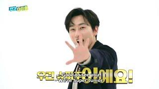 """[Eng Sub] [Scene Cut] Eunhyuk Super Junior MC at Program """"We…"""