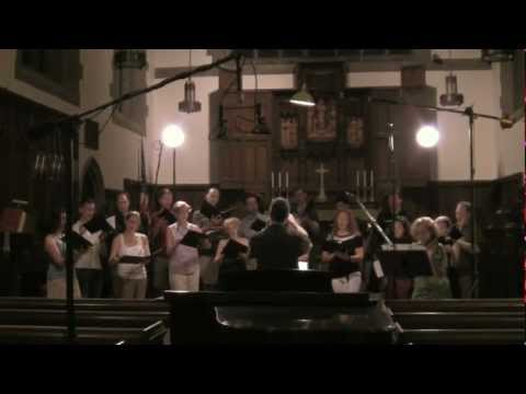 Excerpts from recording session: choral works by Graham Gordon Ramsay