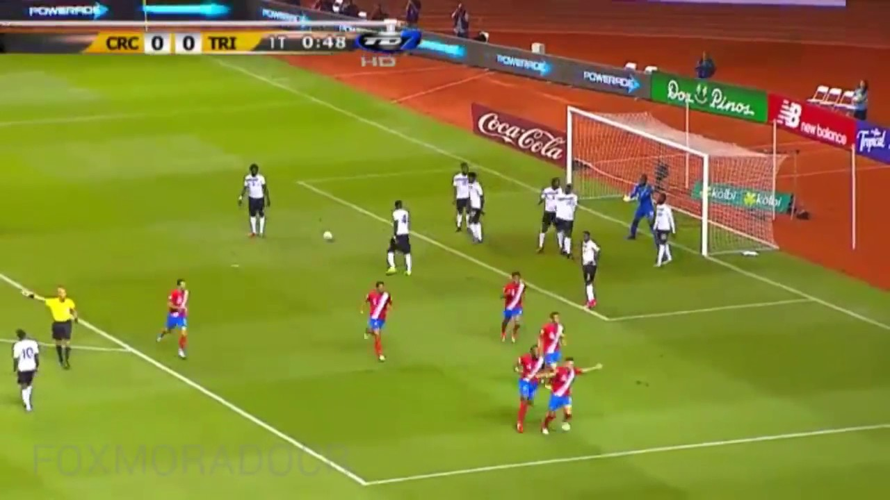 Коста-Рика - Тринидад и Тобаго 2:1 видео