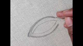 Hand embroidery leaf tutorial   Leaf design for beginners thumbnail