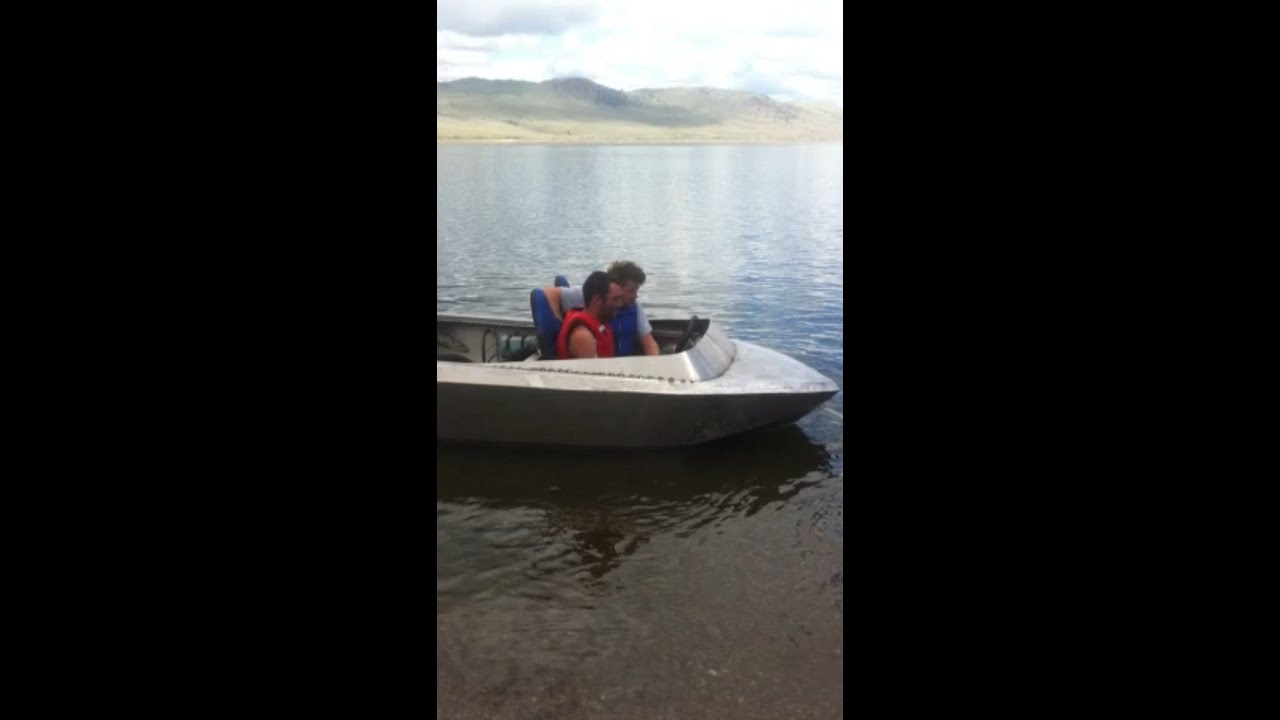 Mini Jet Boat Build Test Homemade DIY