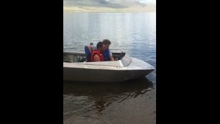 Mini Jet Boat Build Test Homemade Diy