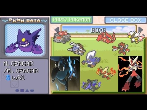All The Mega Evolution Of Pokemon Delta Emerald(rom Hack)