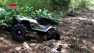 8 Rc Trucks Scale Offroad 4x4 Adventures Axial Jeep Land Rover Discovery The Hills!