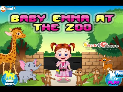 Baby Games » Baby Emma At The Zoo Online Free Flash Game ...
