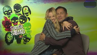MIX!!!! SUICIDE SQUAD (2016) FUNNY interviews (Part 4)  Margot Robbie,Cara Delevingne,Will Smith