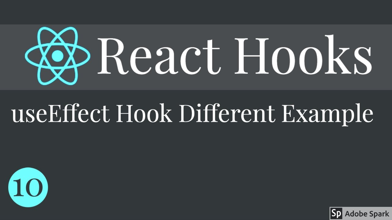 React Hooks useEffect Hook Example and usecases #10
