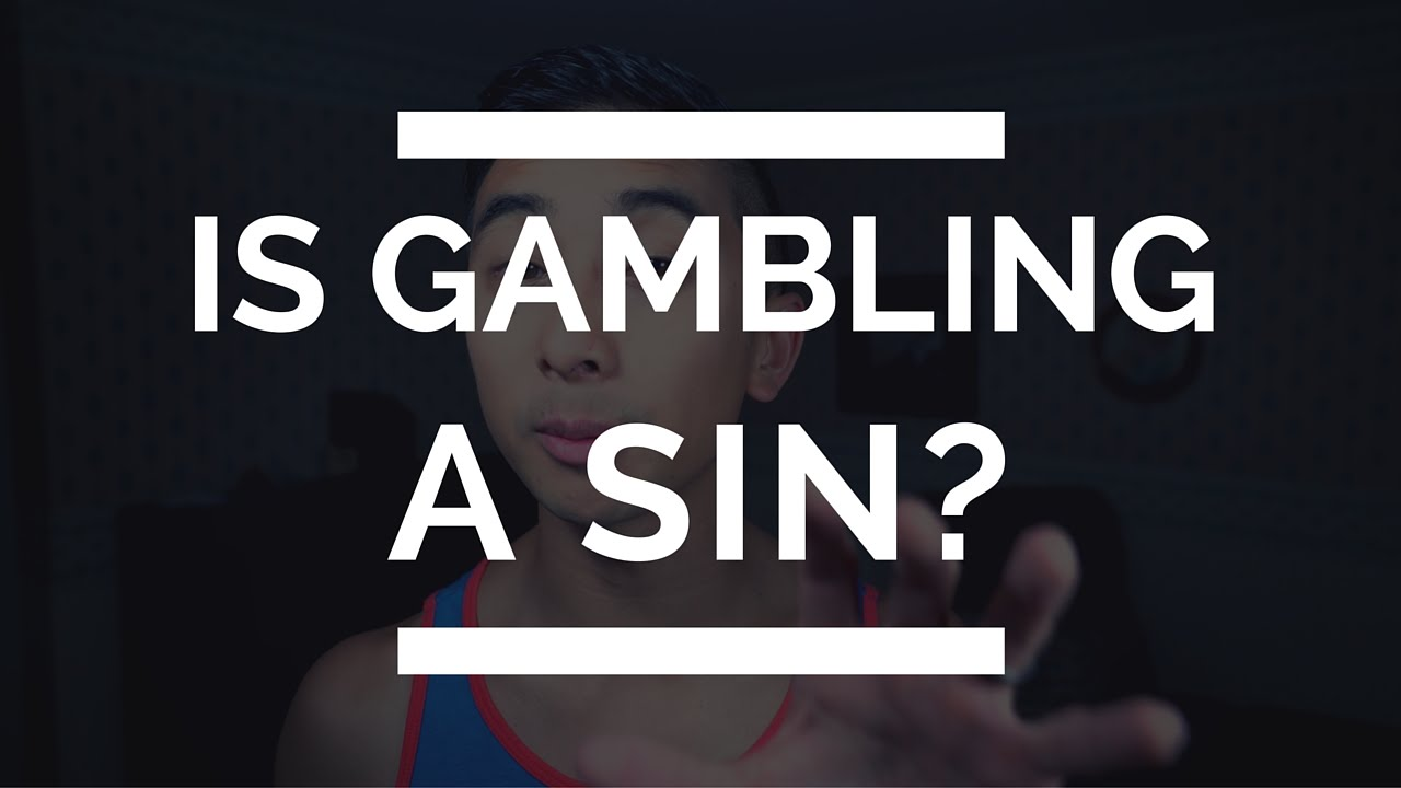 Is gambling a sin money bingo game
