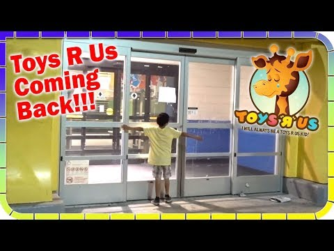 TOYS R US Coming Back 😃🕹️🚂