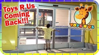 Toys R Us Coming Back ️