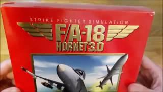 F/A 18 Hornet 3.0 Unboxing (PC Big Box)