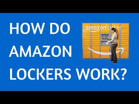 how do amazon lockers work?