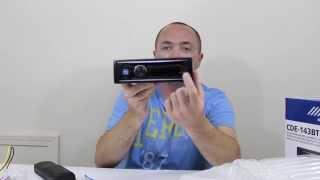 Alpine Bluetooth CD Receiver! CDE-143BT (First Look & Unboxing)