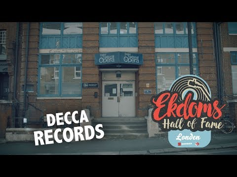 De plek waar The Beatles werden afgewezen: Decca Records - Ekdoms Hall of Fame: Londen