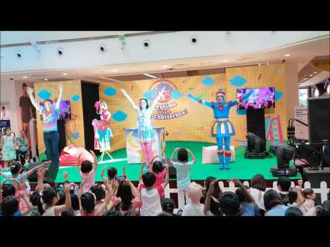 Hi 5 live show stage performance. The Chatterbox live show