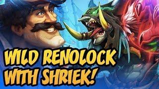 Wild Renolock With Shriek! | Rastakhan's Rumble | Hearthstone
