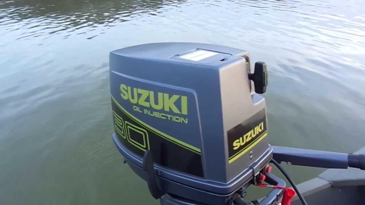 Suzuki 30 HP - YouTube