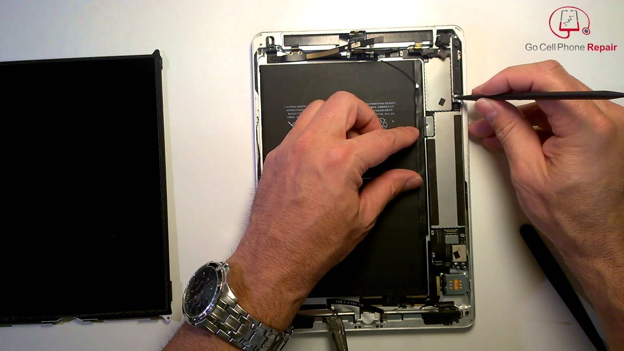 maxresdefault ipad air charging port replacement youtube  at panicattacktreatment.co