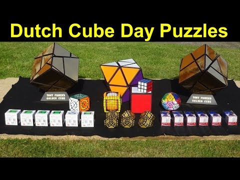 *New* and old puzzles I took to Dutch Cube Day  (+ puzzle group update)