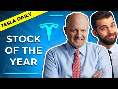 Jim Cramer & Rob Maurer: Tesla is the Stock of the Year (TSLA) - Tesla Daily