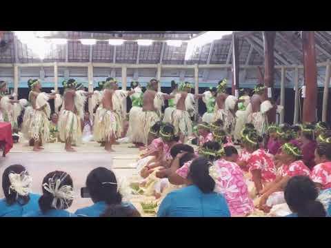 Tokelau traditional dance 2016