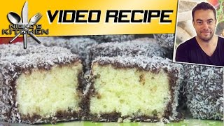 How To Make Lamingtons - Video Recipe