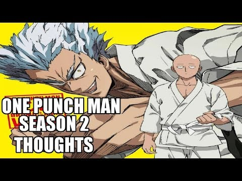 Thoughts on the One Punch Man Season 2 NEWS