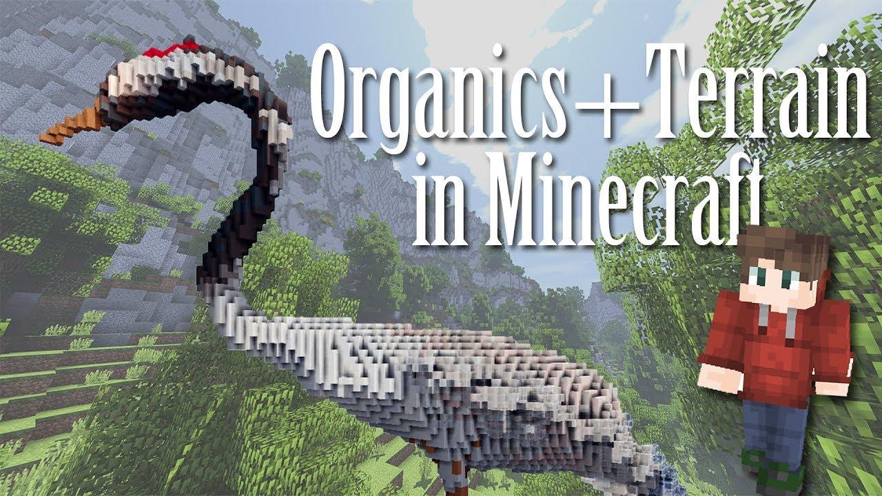 Minecraft Tutorial: How to Make Organics (VoxelSniper+WorldEdit) feat   Qu1nten