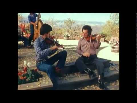 John Denver and Itzhak Perlman playing Bluegrass