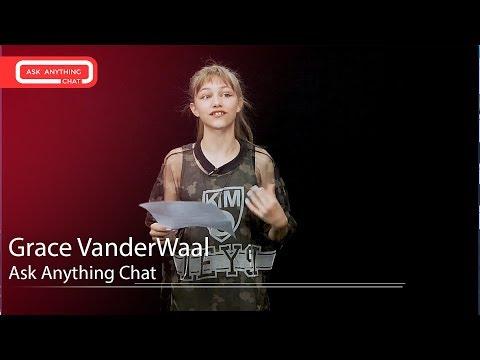 Grace VanderWaal Talks About Ariana Grande Karaoke & America's Got Talent.  Watch Part 1