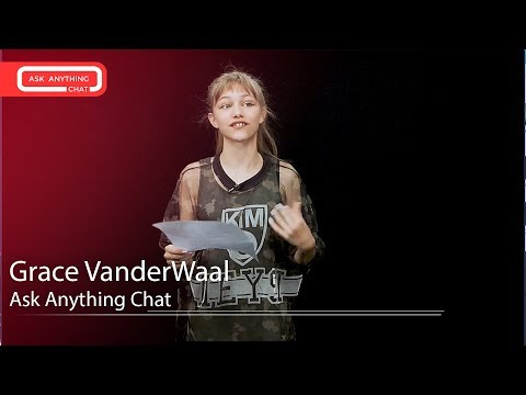 Grace VanderWaal Talks About Ariana Grande Karaoke & America's Got Talent.  Watch Part 1
