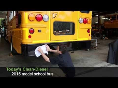 """""""White Towel Test"""" Clean-Diesel"""