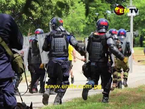 23 Security Personnel Complete the Public Order Management Course