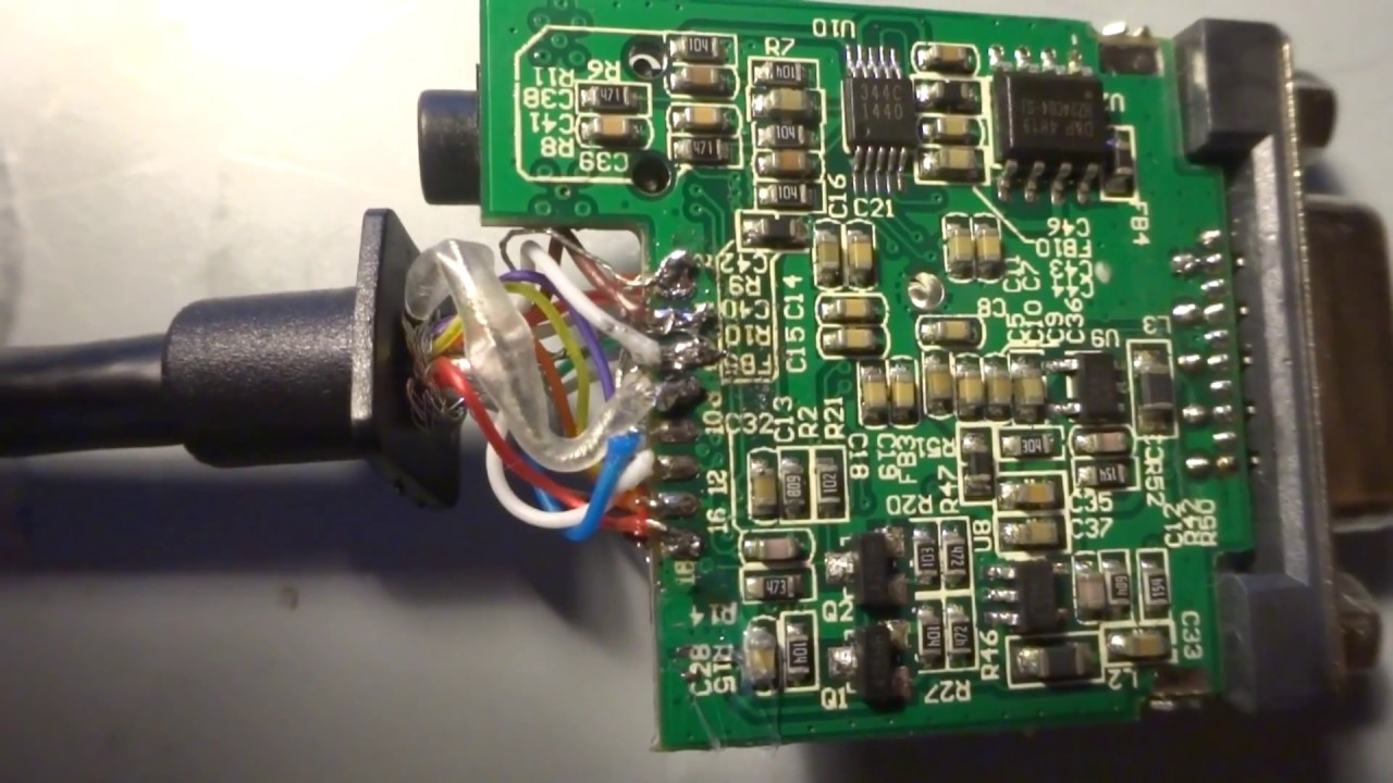 Make an active HDMI to VGA converter(add 5v) (useful for