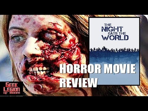 THE NIGHT EATS THE WORLD ( 2018 Anders Danielsen Lie ) Zombie Horror Movie Review
