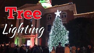 VLOGMAS Day 7: Tree Lighting!!