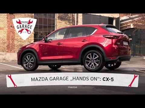 """Mazda Garage """"Hands On"""": Felgenreinigung mit dem Mazda CX-5"""