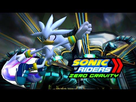 Sonic Riders Zero Gravity - Nightside Rush - Silver 4K 60 FPS