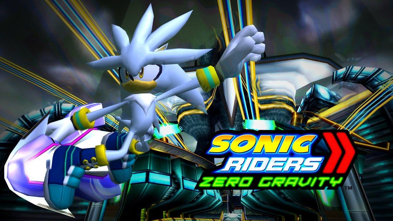 Sonic riders zero gravity nightside rush silver 4k 60 - Gravity movie 4k ...