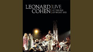 Intro to So Long, Marianne (Live at Isle of Wight Festival, UK)