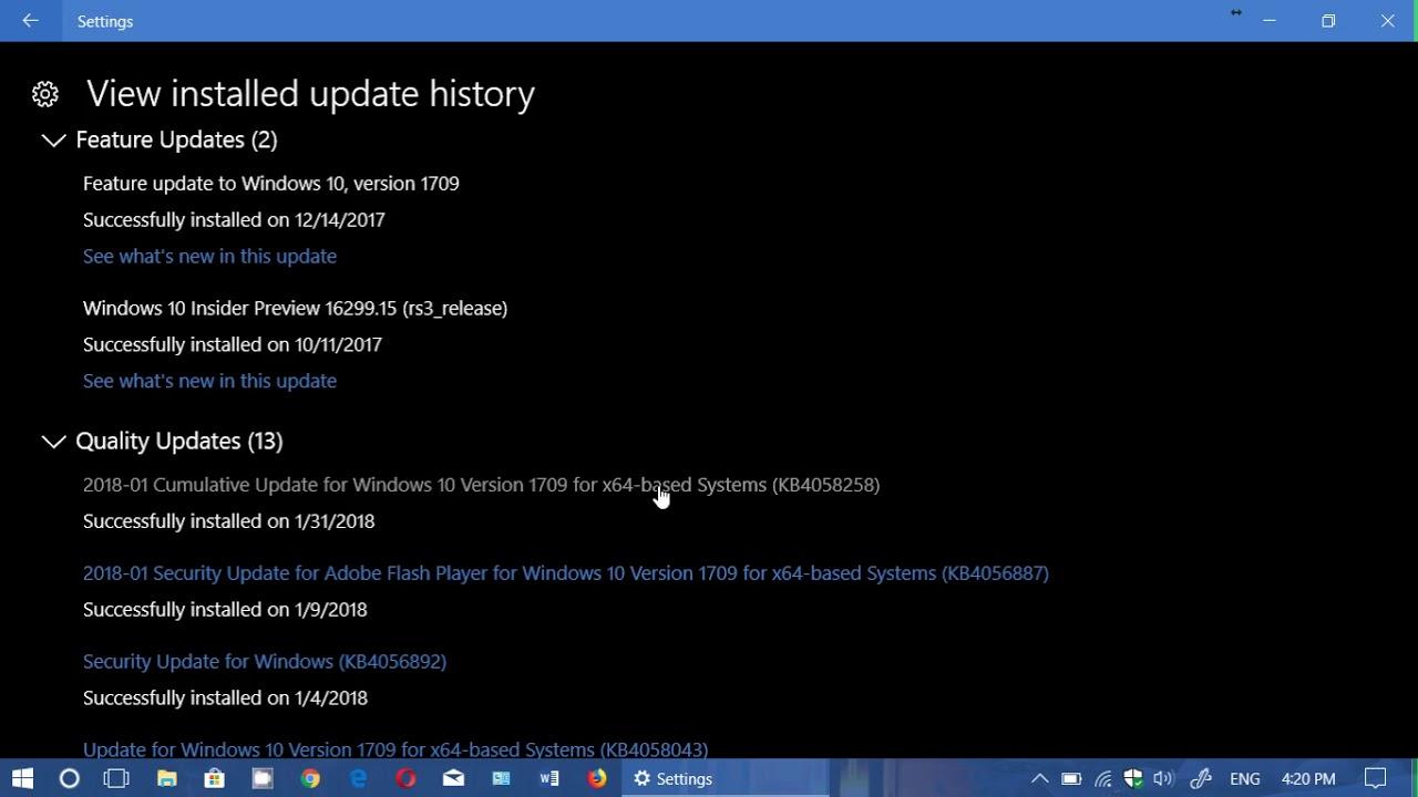 Windows 10 Version 1709 x64 (Updated JANUARY 2018) setup free