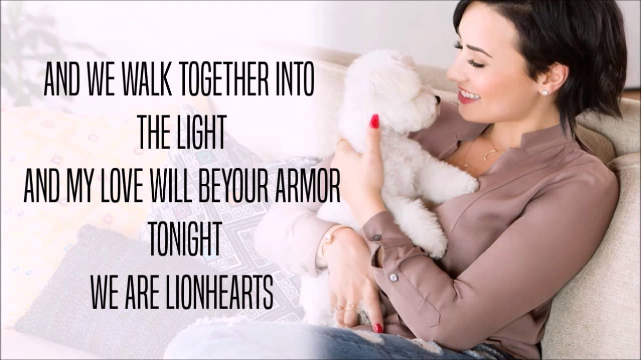 Lion Heart Demi Lovato Lyrics