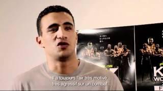Badr Hari talk about Jérôme Le Banner