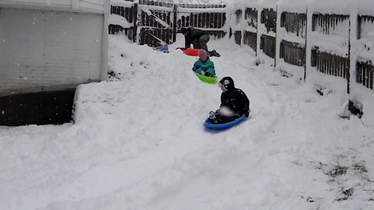 backyard bobsled 1 of 3 youtube