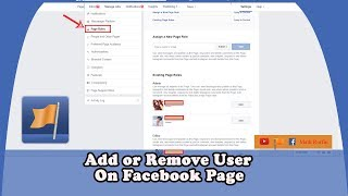 Add or Remove User On Facebook Page