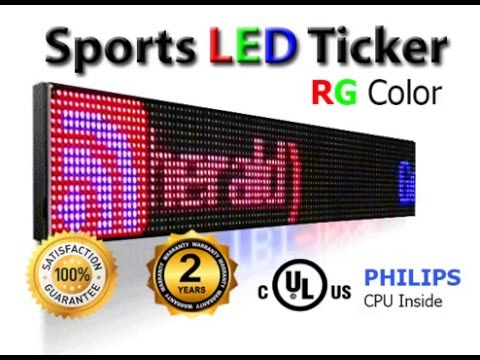 Led Sports Ticker for Sale offer in Thousand Oaks, outdoor