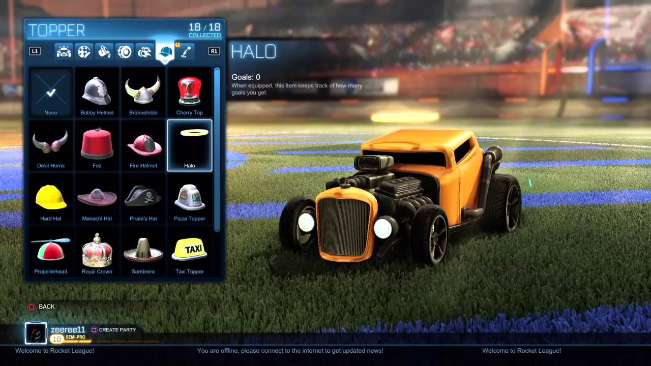 Best Rocket League Painted Toppers